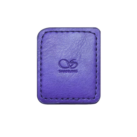 Shanling M0 Leather Case purple, чехол для плеера