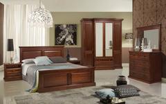 Спальни из массива дерева Олимпия