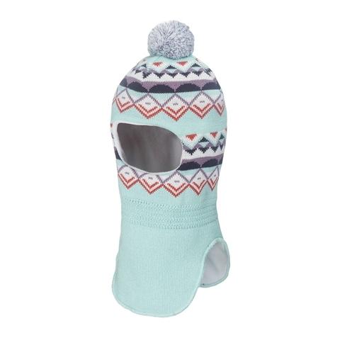 Зимняя шапка-шлем для девочки с флисовой подкладкой Satila Lommy
