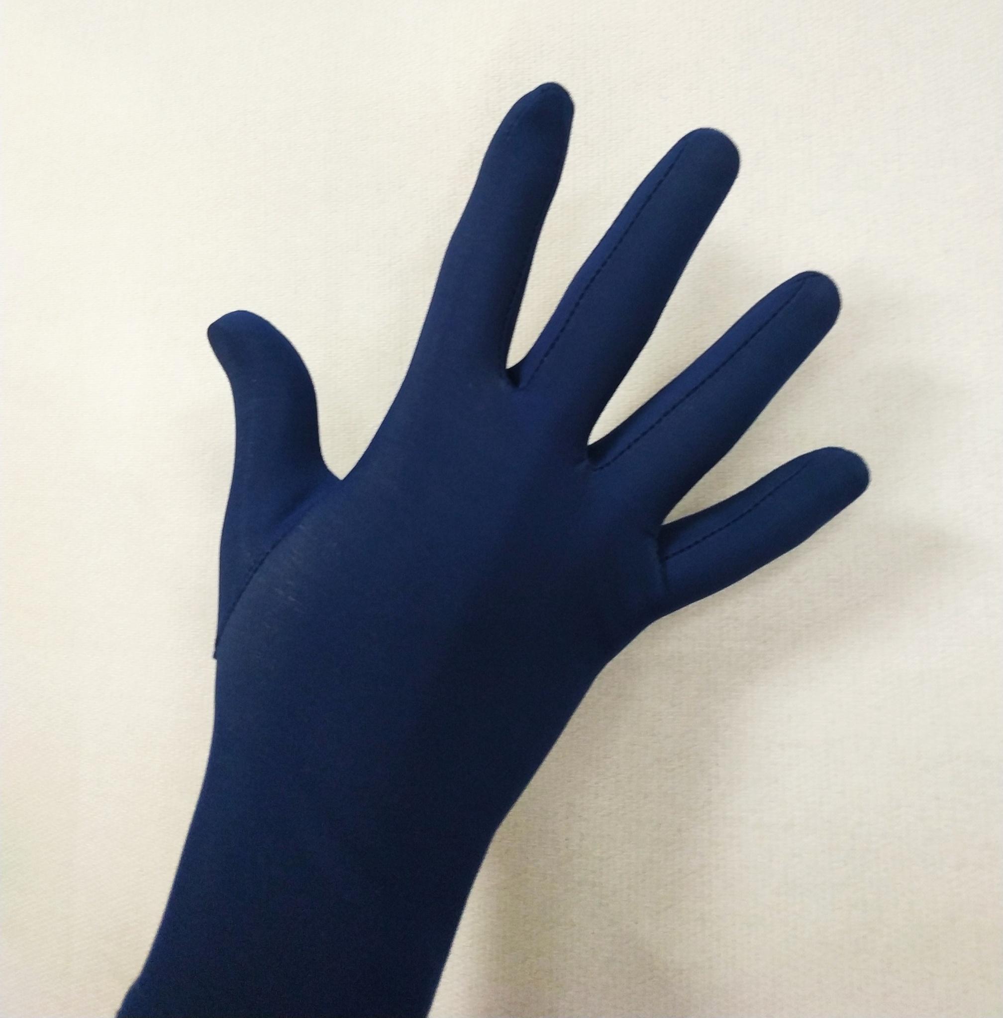 Перчатки из термоткани (тёмно-синие)