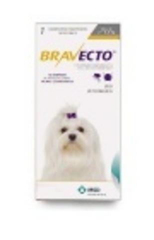 Bravecto Таблетки от блох и клещей, 2- 4,5кг