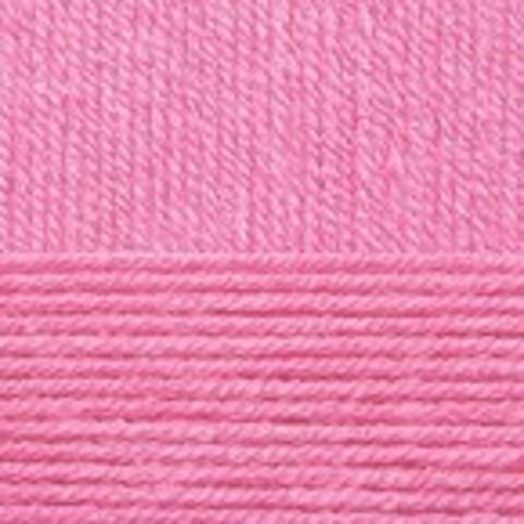 Купить Пряжа Пехорка Детская новинка Код цвета 011-Яр. Розовый | Интернет-магазин пряжи «Пряха»