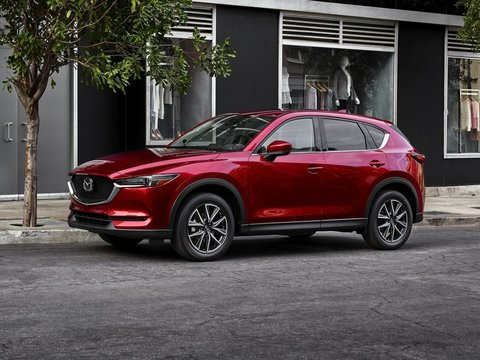 Чехлы на Mazda CX-5 2017–2020 г.в.