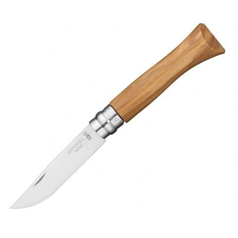 Нож Opinel №6, рукоять из оливкового дерева