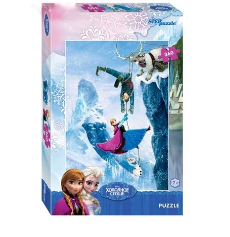 Пазлы Disney «Холодное сердце Герои на скале», 360 элементов 50х34,5 см