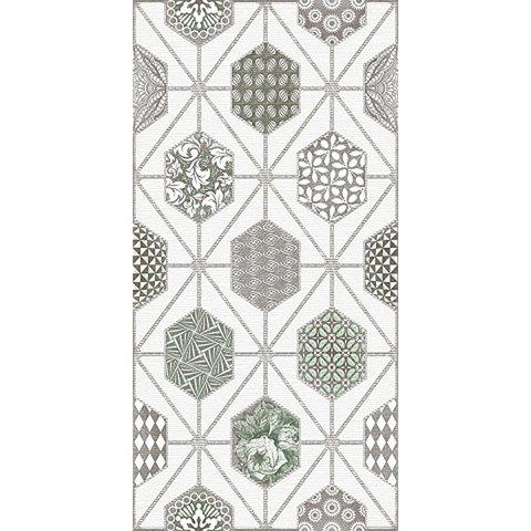 Декор AZORI Devore light geometry 315x630 (шт.)