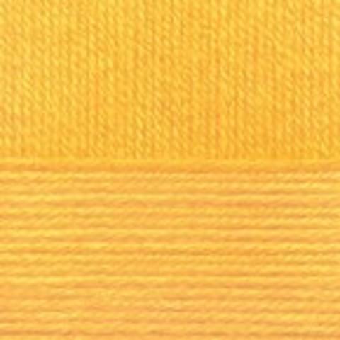 Купить Пряжа Пехорка Детская новинка Код цвета 012-Желток | Интернет-магазин пряжи «Пряха»