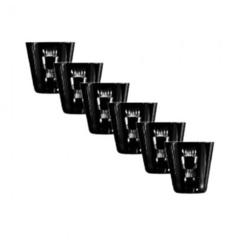 Набор из 6-х стопок для ликера Liquor, 70 мл. Серия Retro Black, фото 2