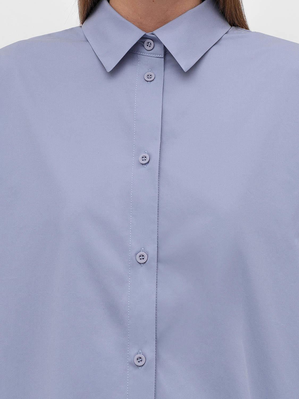 Рубашка Marilyn с разрезом сзади, Голубой