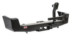 Бампер РИФ задний УАЗ Патриот с площадкой под лебедку и калиткой стандарт