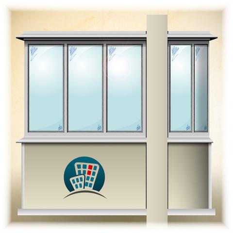 Остекление балкона в доме серии П-111М