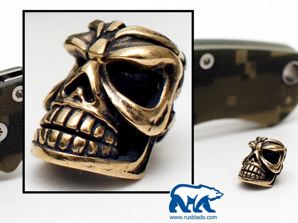 """Custom Sword Knot """"Skull #1"""" Limited Edition"""