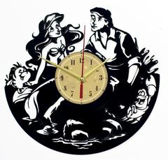 Русалочка Ариэль Часы из Пластинки