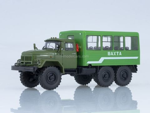 ZIL-131 shift work bus 32104 khaki-green 1:43 Our Trucks #20