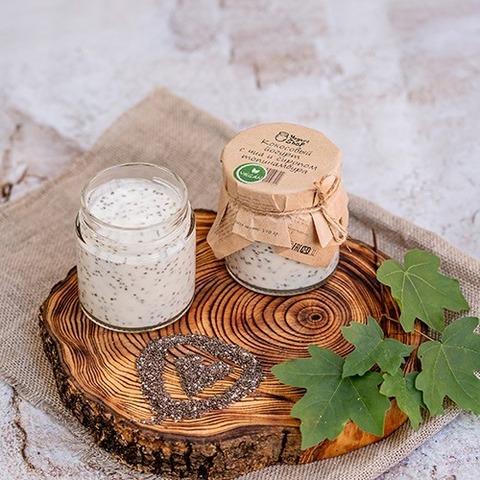 Кокосовый йогурт с чиа и сиропом топинамбура 170 г