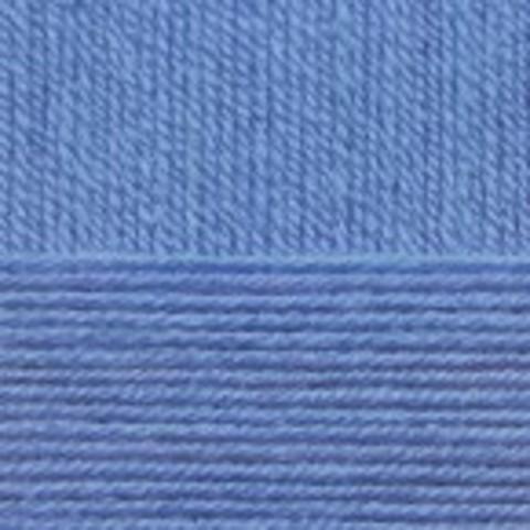 Купить Пряжа Пехорка Детская новинка Код цвета 015-Т.Голубой | Интернет-магазин пряжи «Пряха»