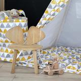 Тканевая корзина для игрушек Triangles треугольники