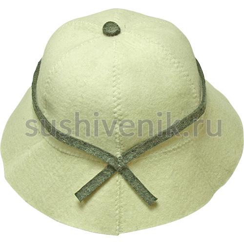 Тропическая шапка для бани