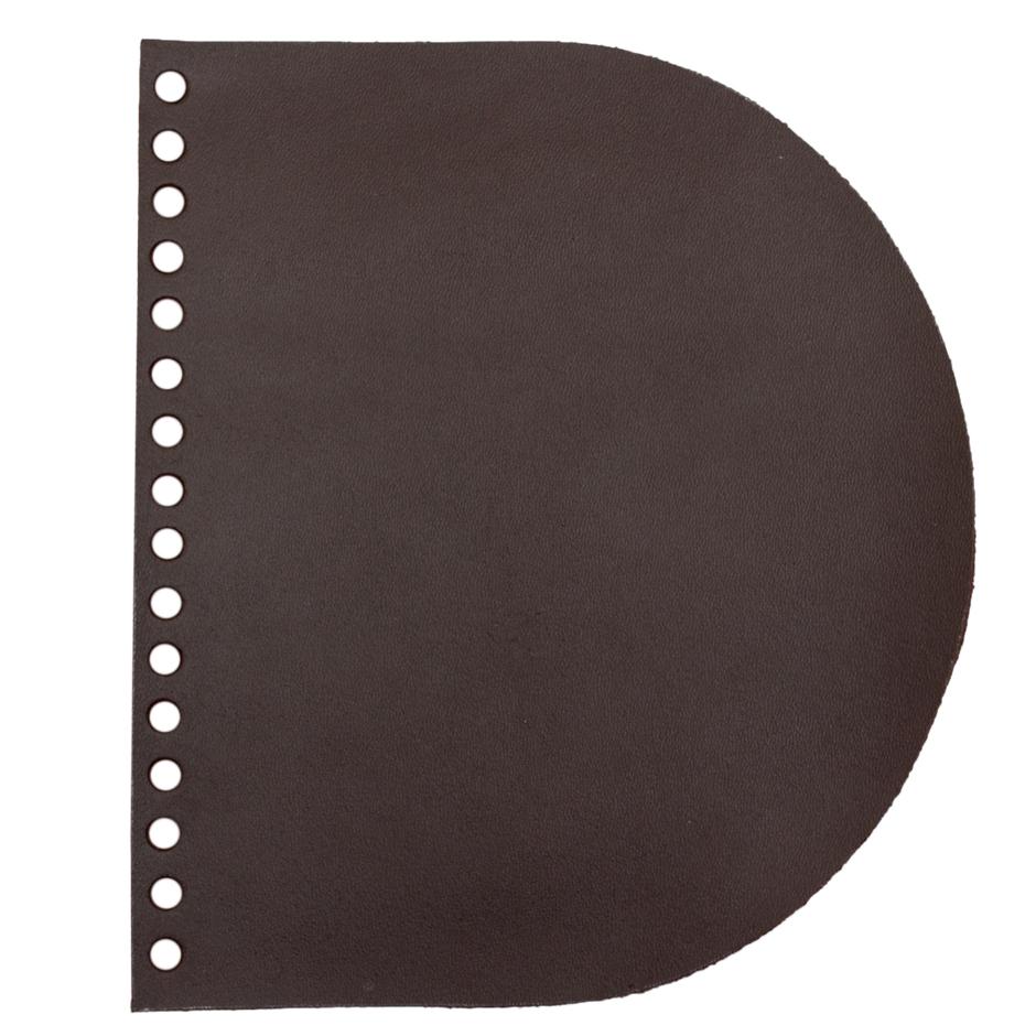Кожаная фурнитура Клапан для сумочки кожаный темно-коричневый 1,6 мм тк_к.jpg