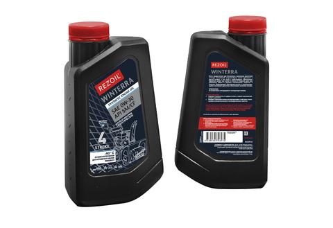 Синтетическое моторное масло Rezoil WINTERRA SAE 0W-30, API SM/CF
