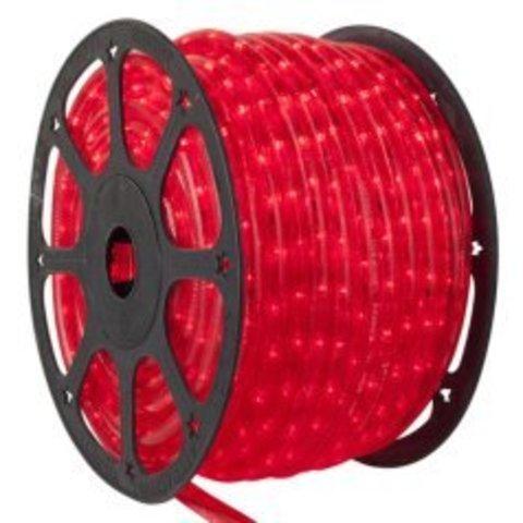 Красный дюралайт LED шланг светодиодный Delux двухжильный 2wrl
