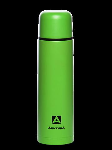 Термос Арктика (102-750 зеленый пластик) 0,75 литра с узким горлом классический, зеленый