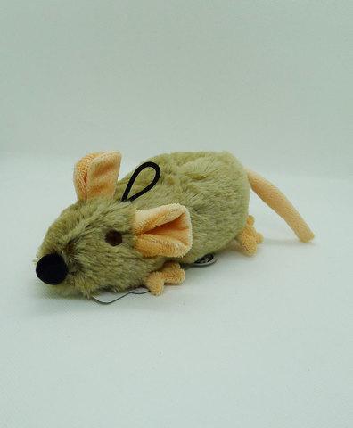 NEMS Игрушка крыса с пищалкой 26см