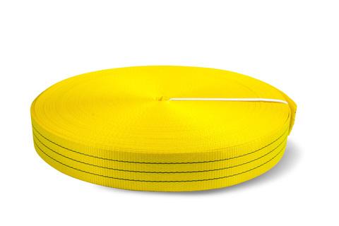 Лента текстильная TOR 6:1 90 мм 10500 кг (желтый), 100м