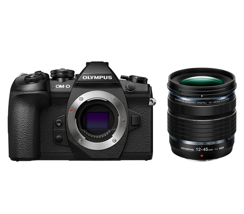 Olympus OM-D E-M1 Mark II Kit 12-45mm f 4 Black