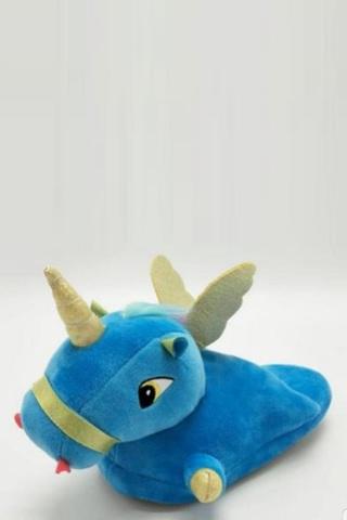 Тапочки пегас голубые детские
