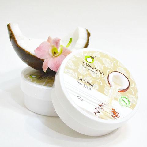 Маска для волос на кокосовом масле TROPICANA