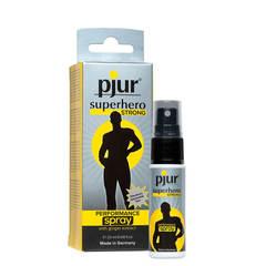 Усиленный спрей для мужчин для пролонгации Pjur Superhero - Strong Delay Spray 20 МЛ