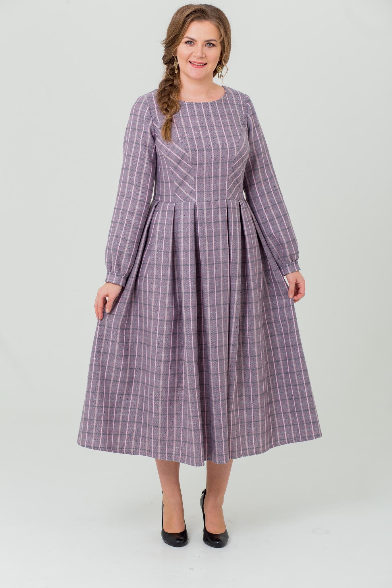 Платье льняное Розовый вечер от Иванки