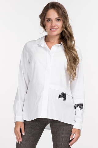 Рубашка для беременных 09898 белый