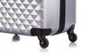 Чемодан со съемными колесами L'case Phatthaya-24 Серебро (M)