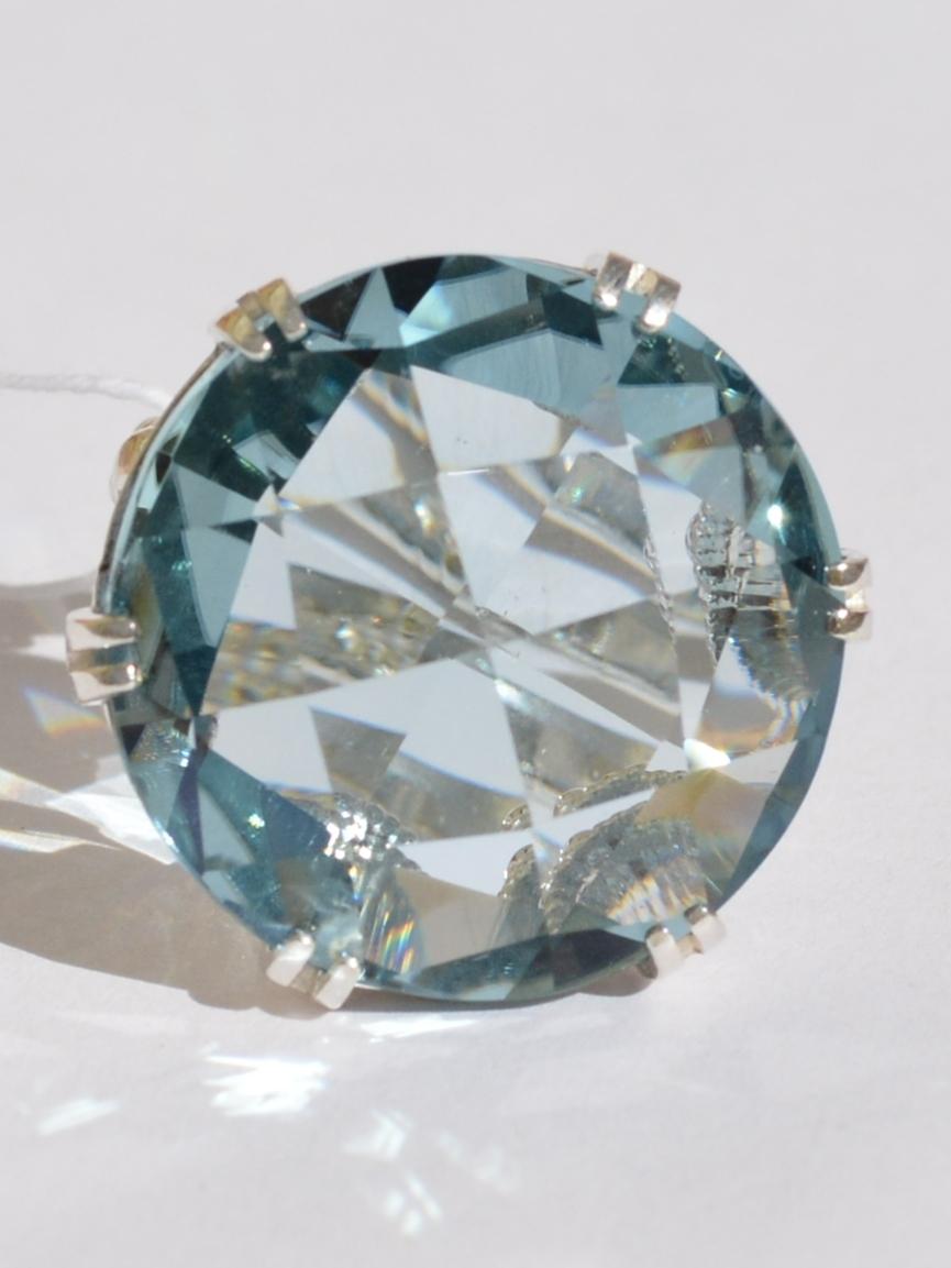 Топаз 502 (кольцо из серебра)