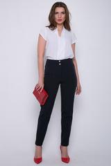 <p><span>Классические офисные брюки прямого силуэта. Удобная высокая посадка. Длина по внутреннему шву - 77см</span></p>