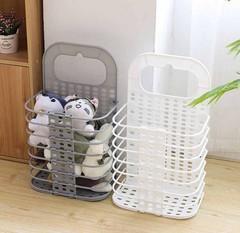 пластиковые корзины для белья изображение