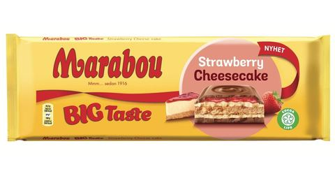 Marabou Strawberry cheesecake 300 гр