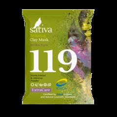 Маска минеральная с пребиотиком №119   15 гр   Sativa