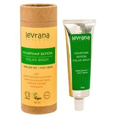 Натуральный крем для ног Полярная береза, 50ml TМ Levrana