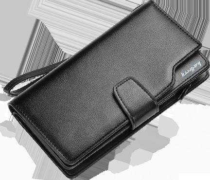 Чёрный вариант цвета портмоне Baellerry