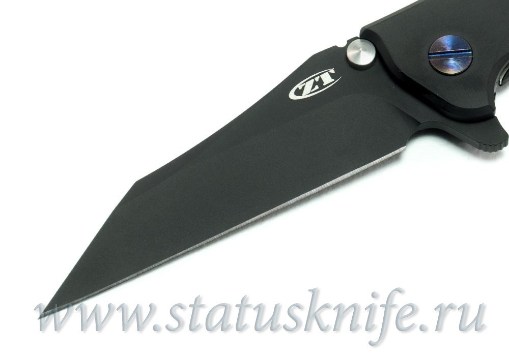 Нож Zero Tolerance 0392PURBLKWC Rick Hinderer Limited Edition - фотография