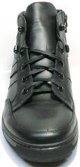 Зимние ботинки с мехом мужские Ikoc 1608-1 Sport Black.