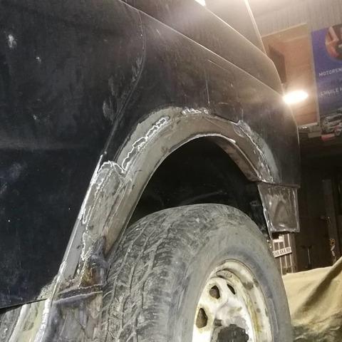 Ремонт арок УАЗ Патриот