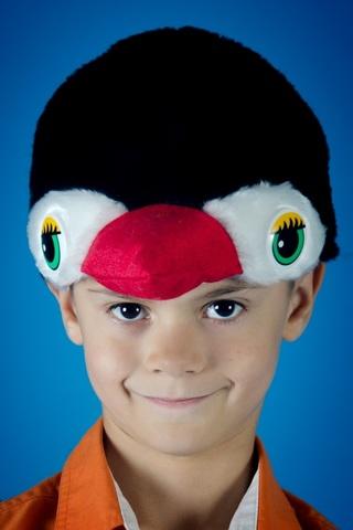 Карнавальная шапочка Пингвина 1