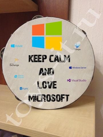 Бубен Microsoft
