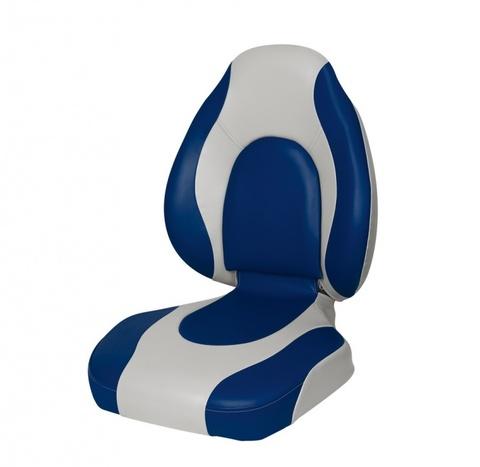 Кресло Premium Countured Seat - серый/синий