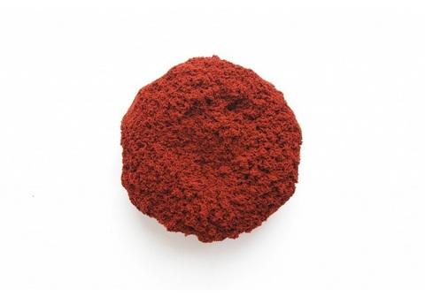 Трогательный песок ЛЕПА с минеральным красителем, красный 1 кг