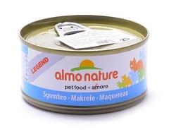 Консервы (банка) Almo Nature Legend Adult Cat Mackerel